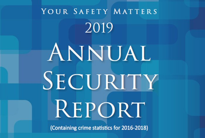 Annual Security Report Keeps Community Informed About Crime