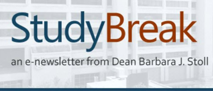 The latest issue of Study break is out and dedicated to UT Police