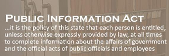image for Public Information Act