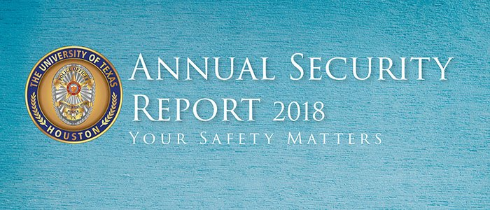 The 2018 Annual Security Report and 2018 Security and Fire Safety Report have been published