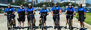 The Bike Patrol team.