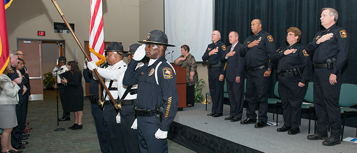 Honor Guard - About - UT Police at Houston - UT Police at Houston