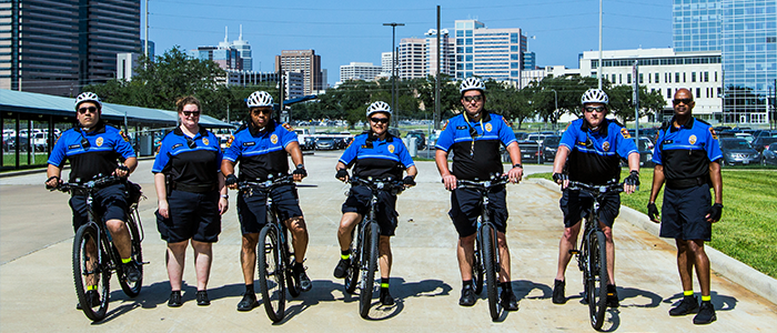 The Bike Patrol Program team.